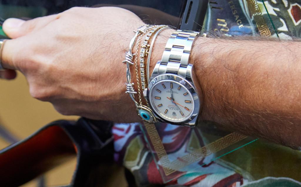 769c53ec2af A gente já declarou que é fã do mix de pulseiras